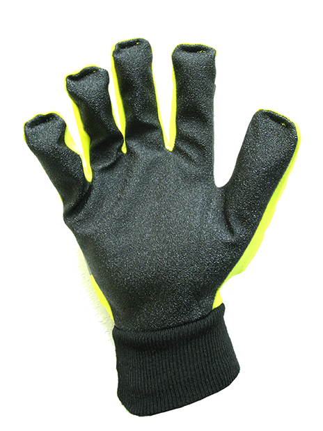 Roughneck Textured PVC Palm Safety gloves
