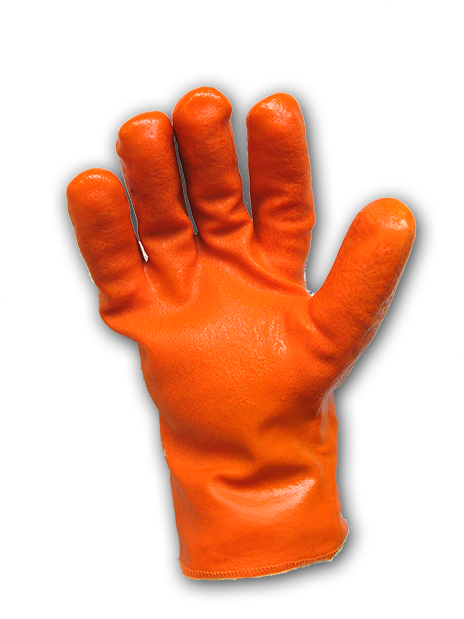 PVC coated, Saturation Proof Impact Glove