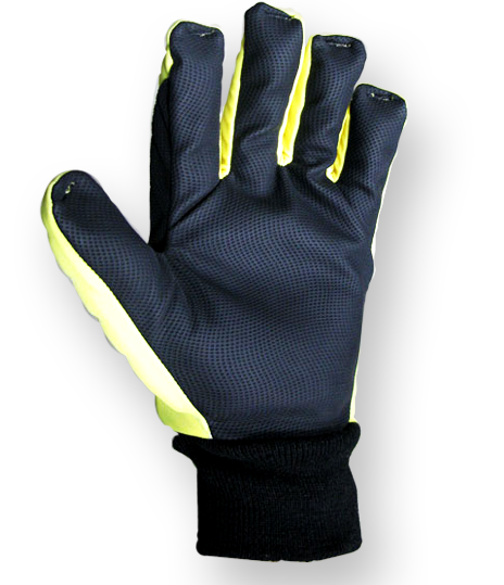 Roughneck Smooth PVC Palm Safety gloves